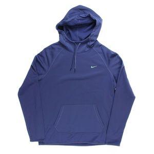 Nike Long Sleeve Therma-FIT All Time Hoodie Purple